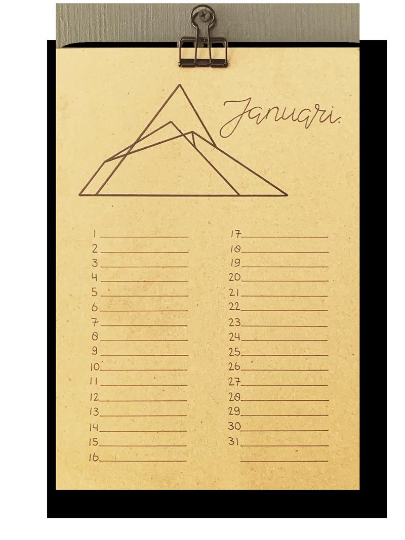 lijnkalender